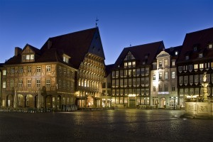 Ancient Marketplace of Hildesheim